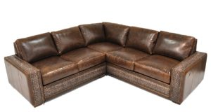 Ashton Sectional in Brompton Coffee