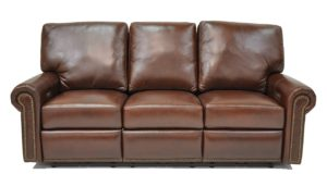 Fairfield Reclining Sofa in Guanaco West