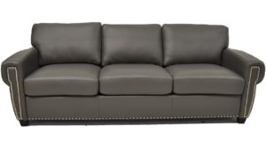 Stationary Solutions 205 Large Sofa in Softsations Pewter