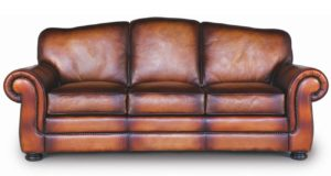 Buckingham Sofa 30 in Maestro Artisano Havana by Eleanor Rigby