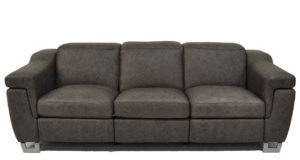 Delano Reclining Sofa in Saloon Gray