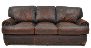 Houston Sofa in Wilderness Brown and Diamonde Walnut
