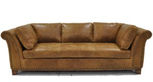 Kingsley Sofa in Outland Saddle