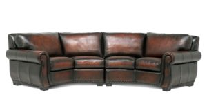 Rafael 4C Conversation Sofa in MA Arisano by Eleanor Rigby