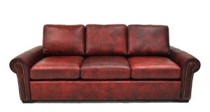 Wellington Sofa in Legends Claret