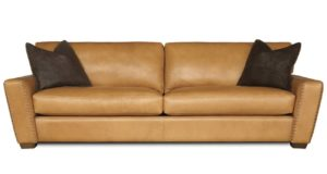 City Cowboy Sofa in Coachella Tan with 2 Tone Whipstitch 7