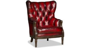 Tufted Red Chair 2062 Colby Chair
