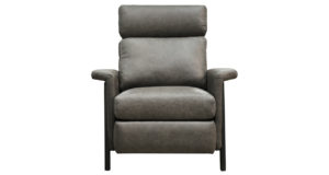 Axel Push Back Leather Recliner