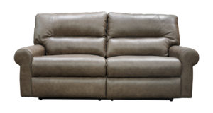Reclining Leather Sofa Made in USA