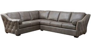 Brisbane Leather Sectional