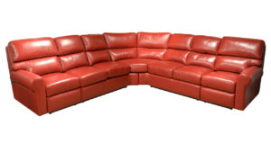 Brookfield Reclining Leather Sectional
