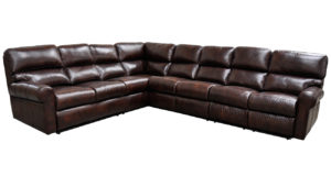 Brookhaven Leather Reclining Sectional