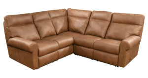 Reclining Leather Sectional